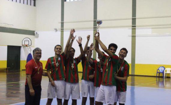 Juniores vencem Taça Associação Voleibol da Madeira 2018/2019