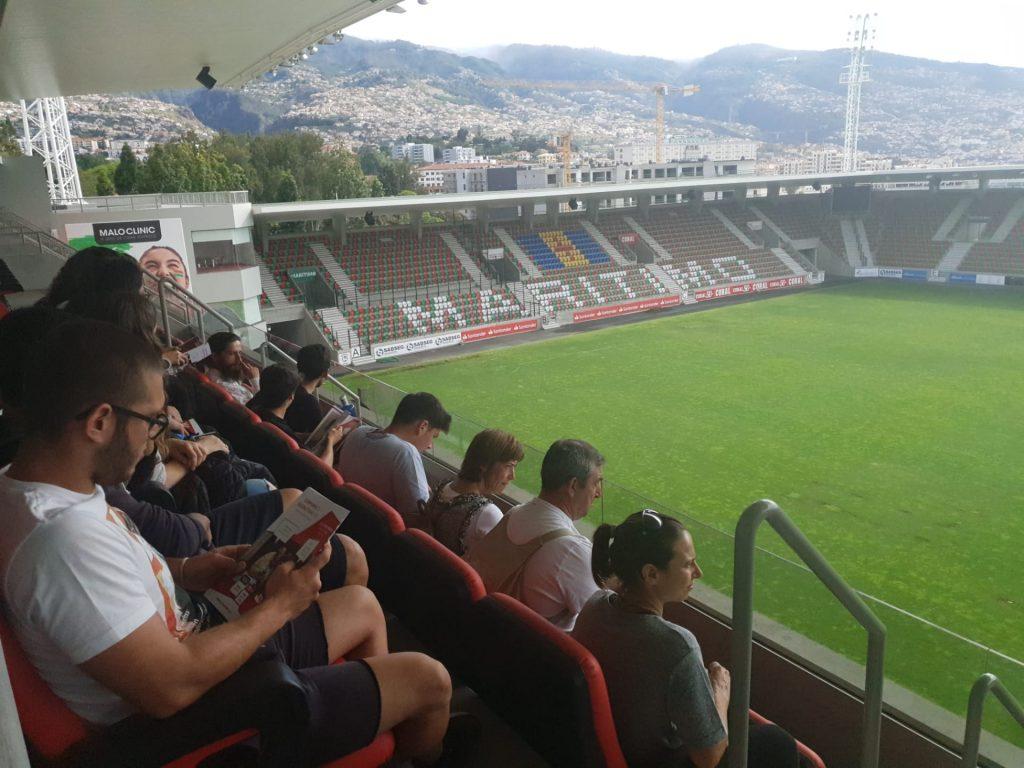 Escola de Machico Visita Estádio do Marítimo