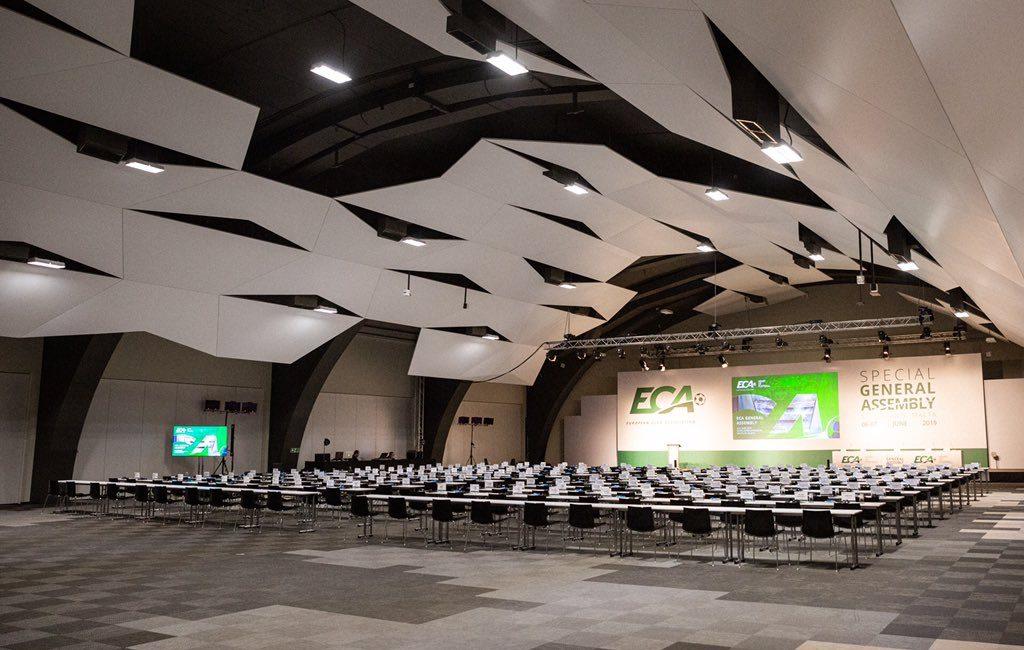 Assembleia Geral European Club Association Junho 2019.