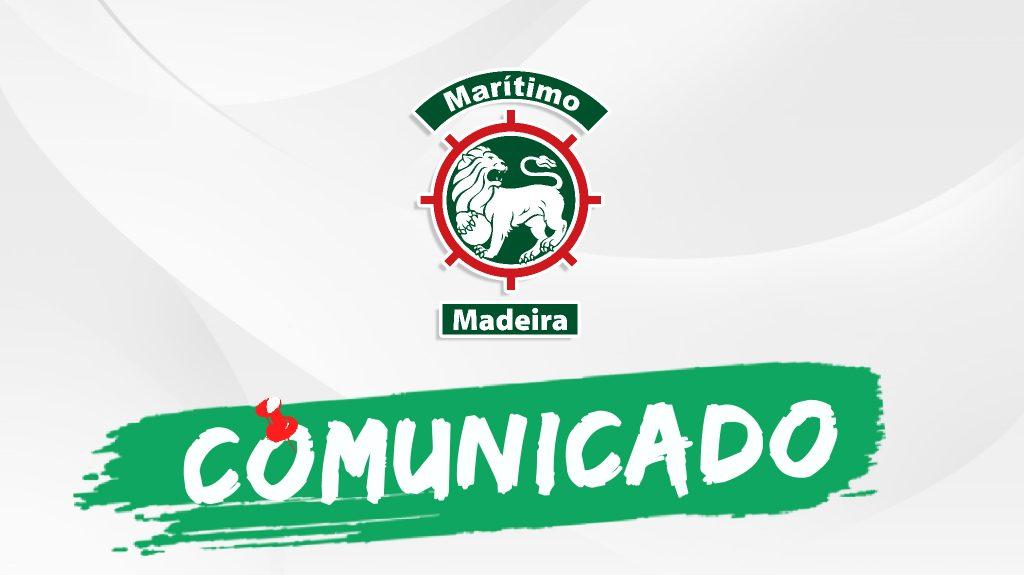 Comunicado Club Sport Marítimo
