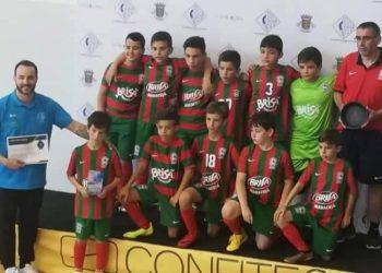 Benjamins do Club Sport Marítimo III Torneio Internacional de Futsal de Formação de Vila Real