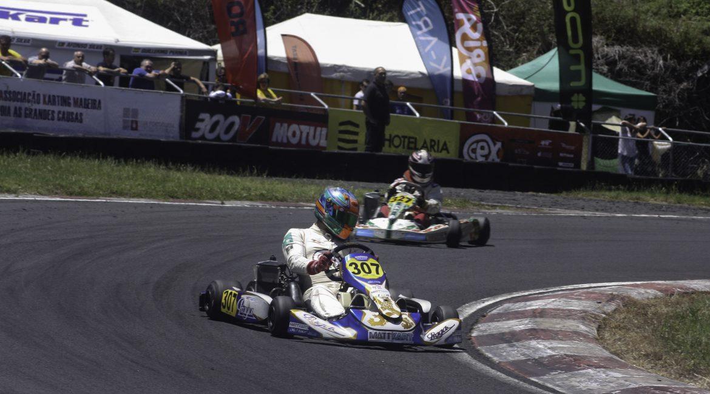 Pedro Paixão termina em 4.º Troféu Karting do Faial