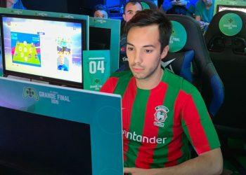 Rafael Monteiro no torneio Moche XL eSports