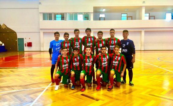 1/2 Final Taça da Madeira Futsal Juvenis: Club Sport Marítimo - Sporting Clube do Porto Santo