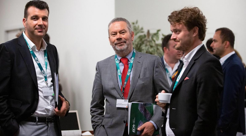 Presidente Carlos Pereira na Assembleia Geral European Club Association Junho 2019.