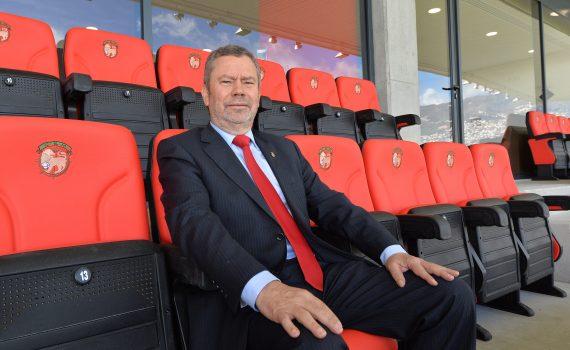 Presidente Carlos Pereira mostra-se satisfeito com o trabalho desenvolvido pela equipa