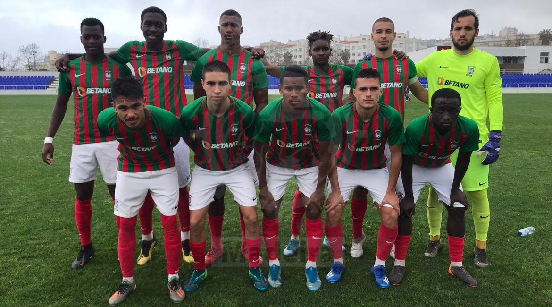 01/02/2020 Funchal, Marítimo Sub-23, perdeu na deslocação ao reduto do Cova da Piedade, 28.ª jornada da Liga Revelação / Carlos Costinha